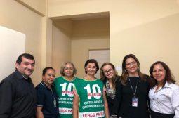 Servidores realizam 1ª vistoria contra o mosquito Aedes aegypti