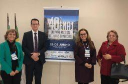 Junta Comercial do Amazonas participa do 40º ENAJ em Foz do Iguaçu, PR