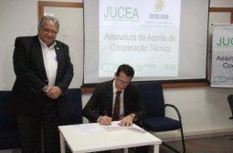 Junta Comercial do Amazonas assina Acordo de Cooperação Técnica inédito no Brasil