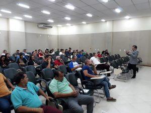 Mais de 30 profissionais participam de treinamento oferecido pela Jucea em Itacoatiara