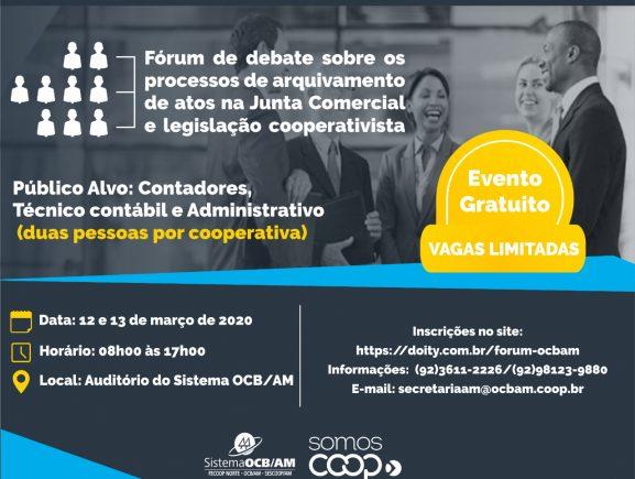 Jucea participa de Fórum de debate sobre os processos de arquivamento de atos na OCB-AM