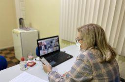 Nova presidente da Jucea apresenta metas da autarquia pós-pandemia, em reunião da Fenaju