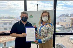 Assinatura de Acordo de Cooperação Técnica com Prefeitura de Lábrea – julho/21