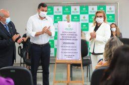 Visita do governador do Amazonas às novas instalações da Jucea – agosto/21