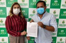 Assinatura de Acordo de Cooperação Técnica com Prefeitura de Boca do Acre – Setembro/21